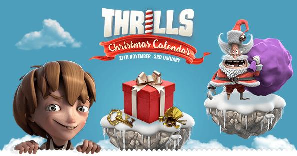 thrills christmas calendar