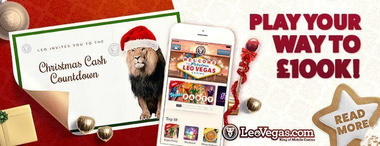 leovegas christmas cash countdown