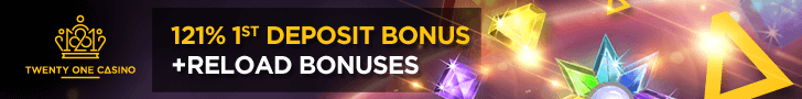 21 Casino free spins no deposit