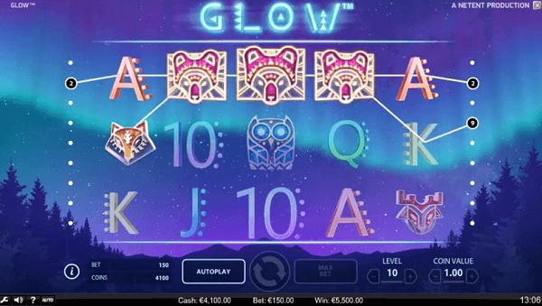 glow free spins no deposit