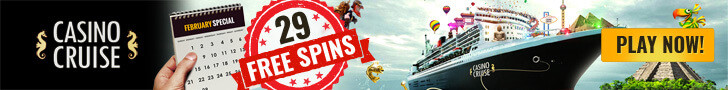 casinocruise february 2016 free spins no deposit