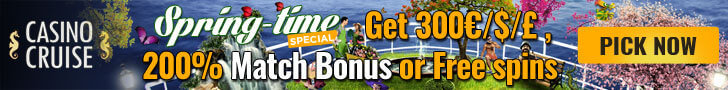 casinocruise march spring free spins no deposit
