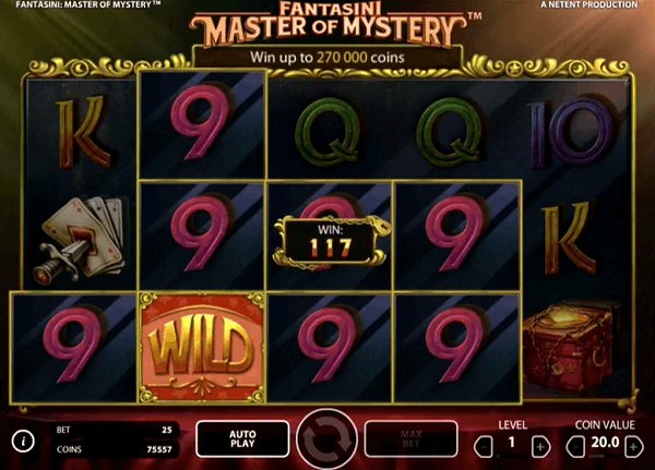 fantasini master of mystery casino
