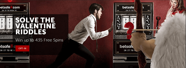 solve the valentine riddles with betsafe