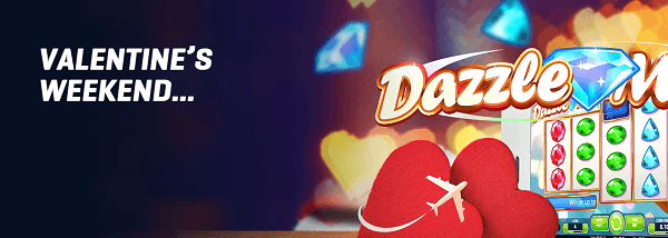 valentine's weekend with nordicbet casino