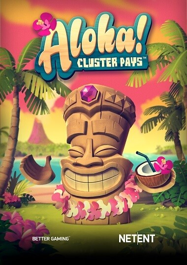 aloha cluster pays free spins no deposit