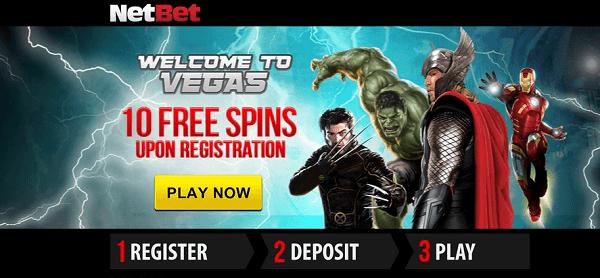 Marvel Slots free spins no deposit