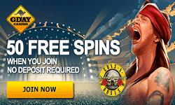 Gday Australian Free Pokies No Deposit