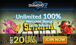 Diamond7 Free Spins No Deposit