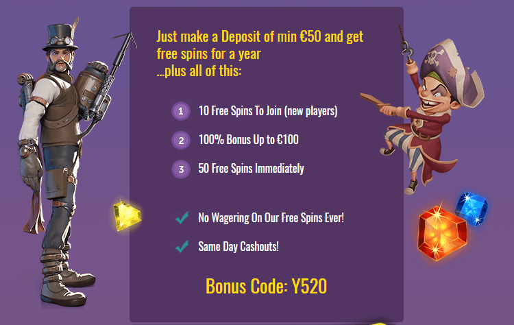 slots magic casino no deposit bonus code