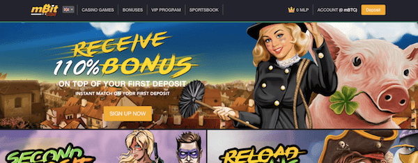 mbitcasino free spins