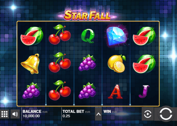 star fall free spins