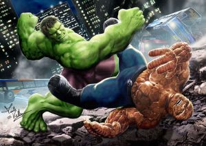 the hulk vs the fantastic four