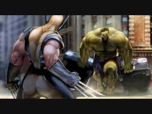 the wolverine vs the hulk