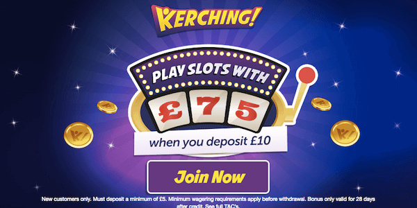 kerching uk casino no deposit