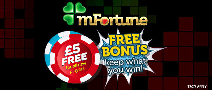mfortune no deposit mobile casino