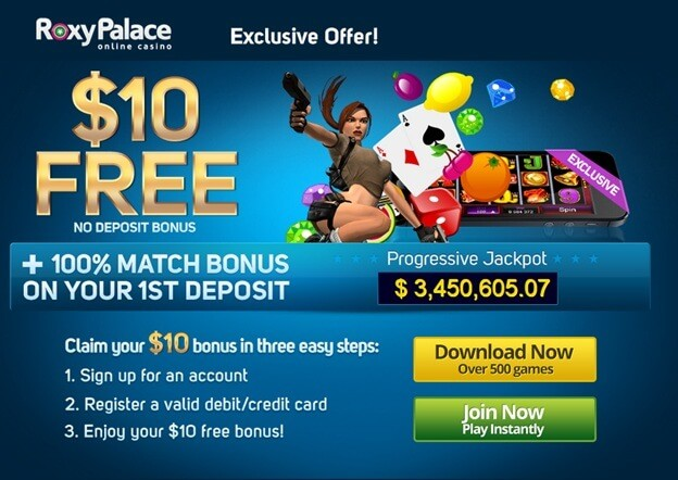 roxy palace casino no deposit bonus exclusive