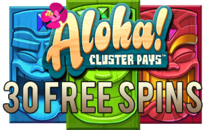 nederbet casino aloha cluster pays free spins no deposit