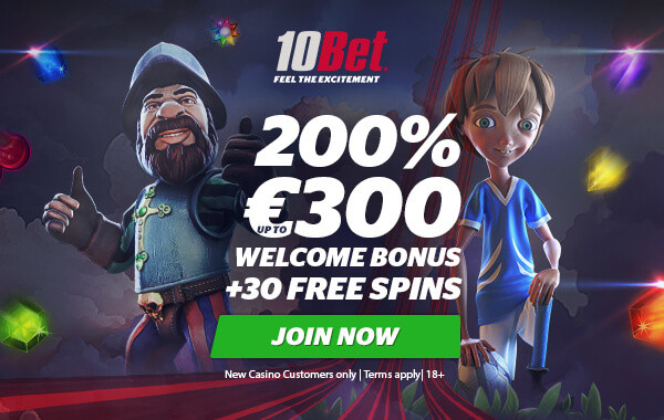 10bet-casino-exclusive-welcome-bonus