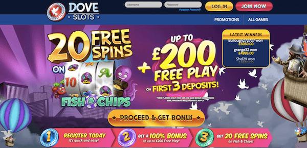 dove-slots-casino-bonus
