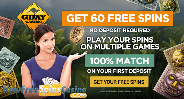 australian online casino free spins sign up