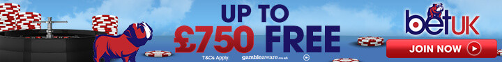 BetUK Casino free spins no deposit