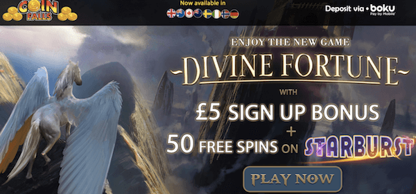 coin falls casino exclusive no deposit bonus
