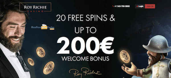 roy richie casino no deposit bonus