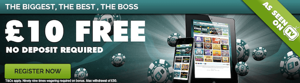 Slot Boss Casino no deposit bonus