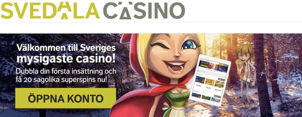 svedala casino bonus free spins