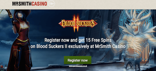 mr smith casino bonus on blood suckers 2