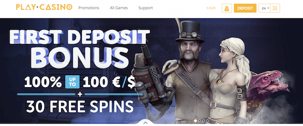 Play.Casino exclusive no deposit bitcoin casino
