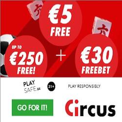 circus casino free spins no deposit