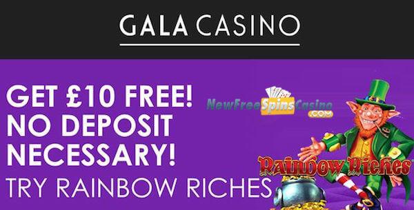 gala casino free cash no deposit bonus