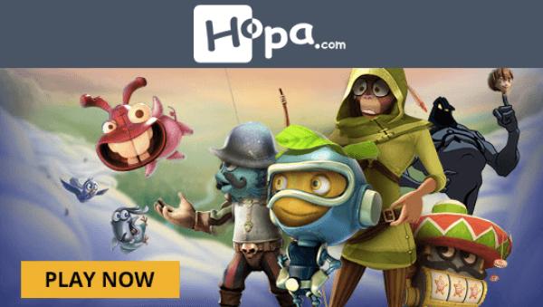 hopa casino free spins no deposit bonus