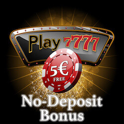 play7777 casino no deposit bonus codes