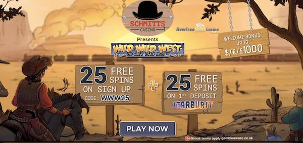 schmitts casino exclusive bonus