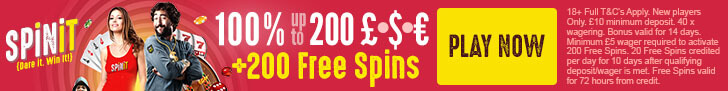spinit casino free spins no deposit