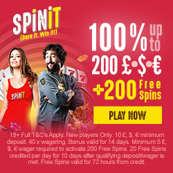 spinit casino no deposit bonus codes