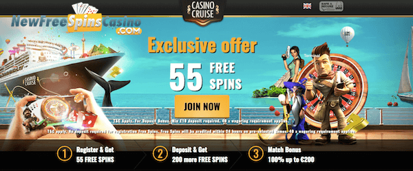 casino cruise exclusive no deposit bonus