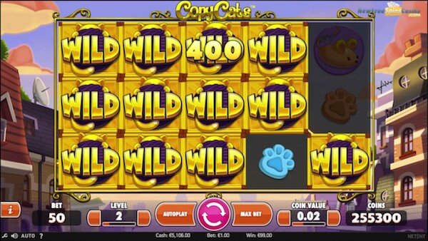copy cats netent slot bigwin