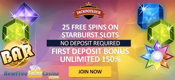jackpot luck casino no deposit bonus