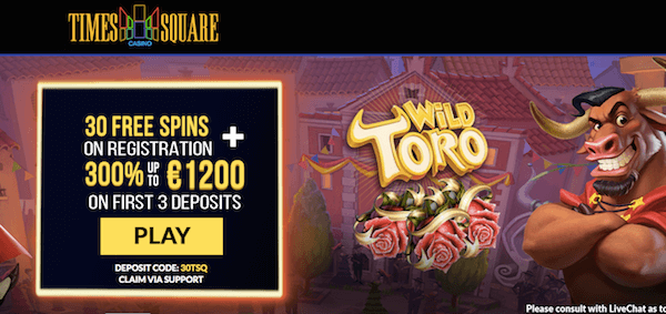 times square casino exclusive no deposit bonus