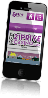 21prive casino mobile logo