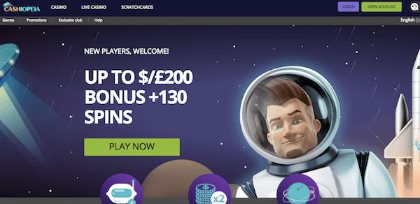 cashiopeia casino no deposit bonus