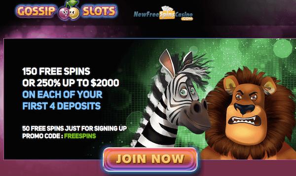 gossip casino no deposit bonus