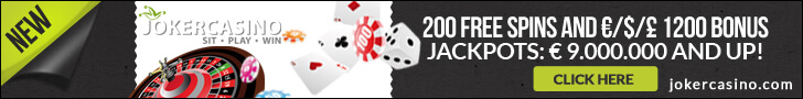 joker casino free spins no deposit