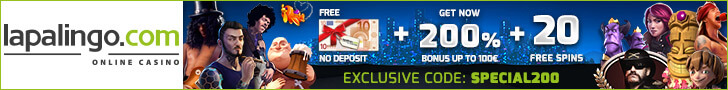 lapalingo casino free spins no deposit