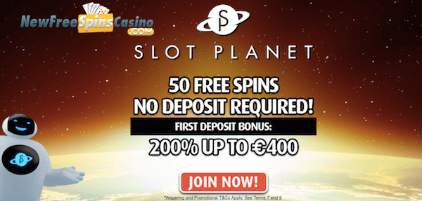 slot planet casino no deposit bonus