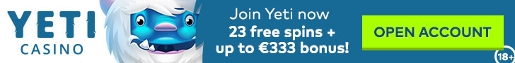 yeti casino free spins no deposit